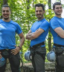 Ermes, Giorgio e Stefano - Skypark
